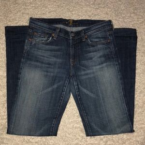 7 for all mankind Jeans Size 28 x 31 Bootcut